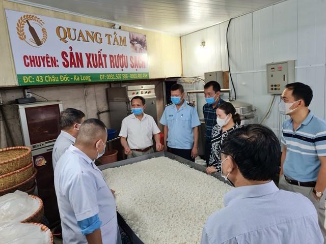 Quảng Ninh tăng cường kiểm tra, giám sát ATTP
