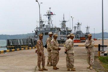 Căn cứ hải quân Campuchia có động thái lạ trước chuyến thăm của quan chức Mỹ