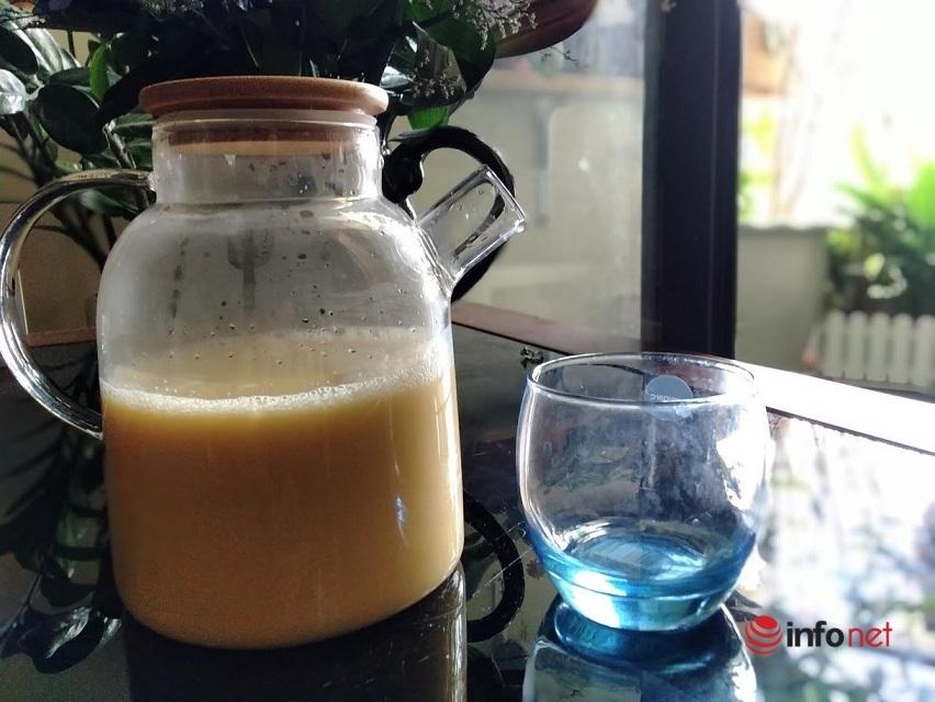 Cách nấu sữa bắp không tách nước