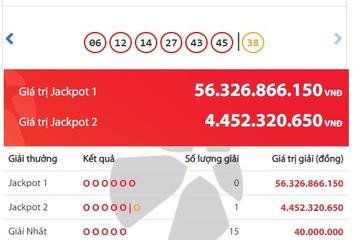 Trúng Jackpot 2, một người ở Hà Nội trở thành tỷ phú Vietlott đầu tiên của tháng 6