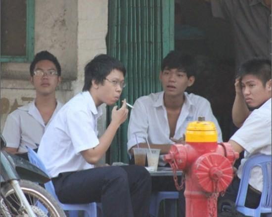 thuốc lá,thuốc lá học đường,thuốc lá trong môi trường học đường