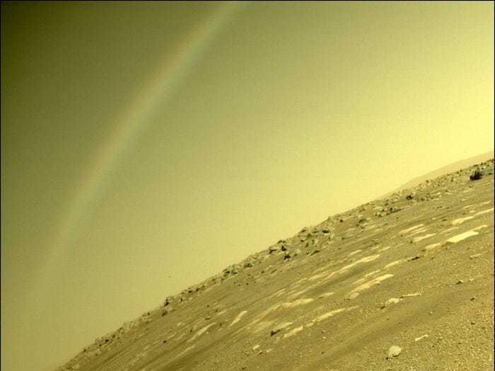 Những bức ảnh NASA chưa từng công bố về Tàu thám hiểm Perseverance trên sao Hoả