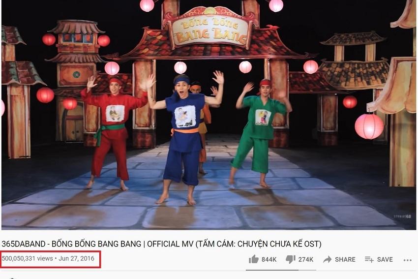 MV Bống Bống Bang Bang đạt nửa tỷ lượt xem, dân mạng khẳng định 'còn đẻ còn tăng view'