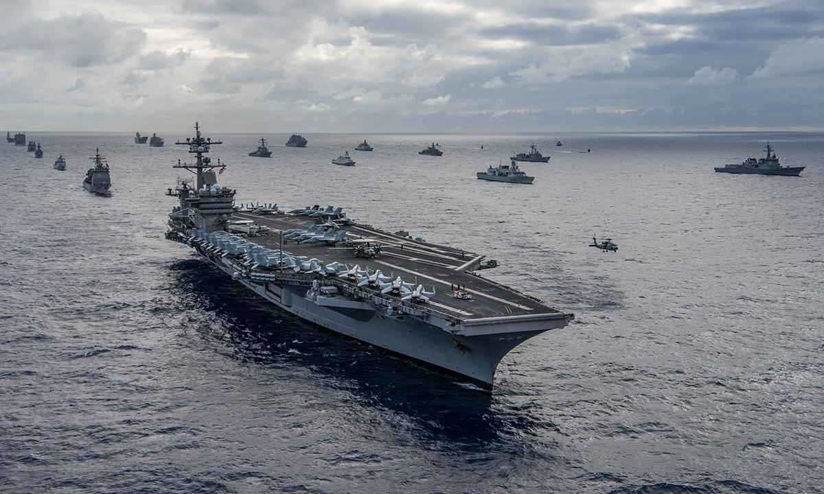 Hải quân Mỹ,diễn tập