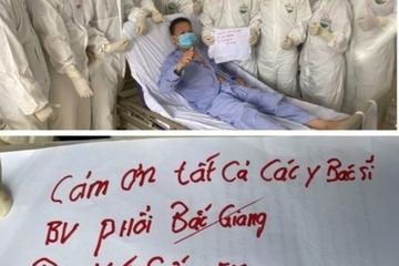 Bệnh nhân COVID-19 nặng ở Bắc Giang: 'Cảm ơn các bác sĩ đã cứu sống em'