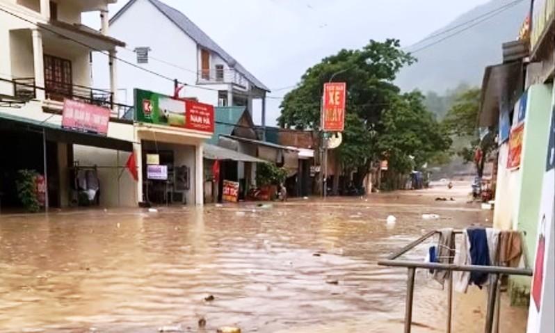 Bắc Bộ, Thanh Hóa, Nghệ An có mưa to trong 2 ngày đầu tuần