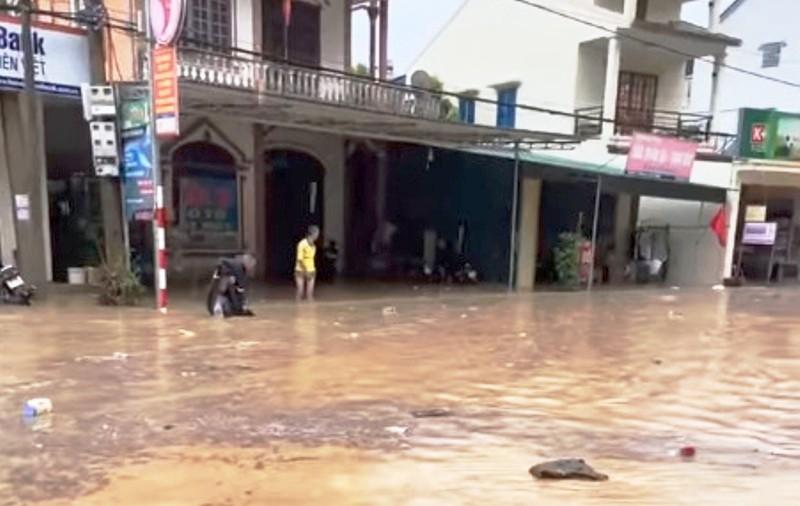 mưa lớn,vùng núi,ngập,Nghệ An