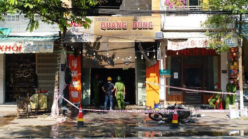 Hé lộ nguyên nhân vụ hỏa hoạn ở cửa hàng điện làm 4 người tử vong ở Quảng Ngãi
