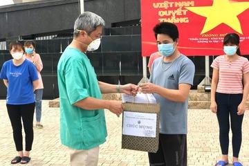 21 bệnh nhân mắc Covid-19 tại Bắc Giang đã khỏi bệnh, thời gian tới số bệnh nhân đủ điều kiện ra viện ngày càng tăng