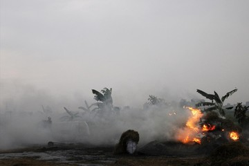 Hà Nội ô nhiễm không khí nghiêm trọng giữa mùa mưa