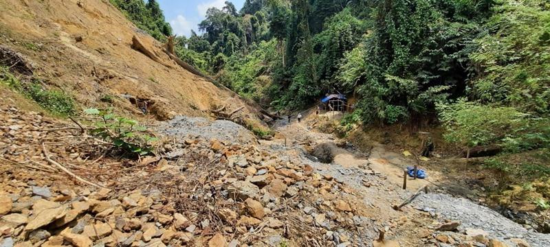 Quảng Nam phê duyệt kế hoạch đánh sập các mỏ khai thác vàng trái phép