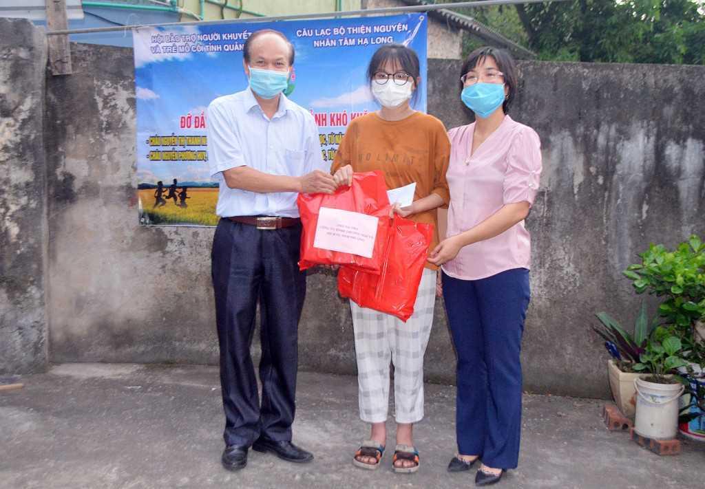 Quảng Ninh: Trao 60 triệu đồng cho học sinh có hoàn cảnh khó khăn