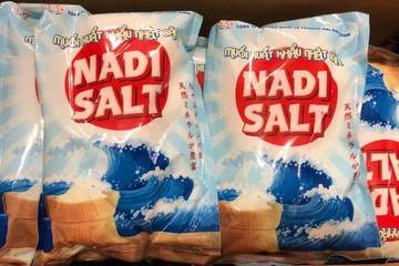 Sản phẩm muối NaDi Salt xuất khẩu hàng trăm tấn nhờ chương trình OCOP