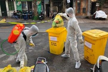 Bắc Giang triển khai biện pháp cấp bách quản lý chất thải phát sinh do dịch bệnh
