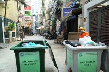 TP.HCM thay đổi phương thức phân loại rác