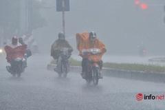 Bắc Bộ, Thanh Hóa, Nghệ An còn mưa lớn, ảnh hưởng áp thấp nhiệt đới