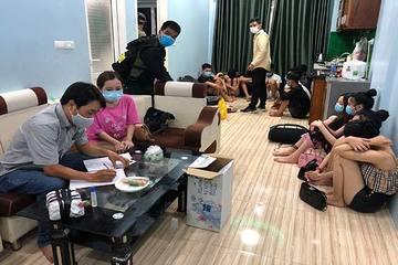 Huế: Kiểm tra chung cư Aranya lúc rạng sáng, phát hiện 14 nam nữ đang phê ma túy