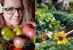 Mảnh vườn 30m2 trồng 200 loại rau và trái cây của cô gái yêu thiên nhiên