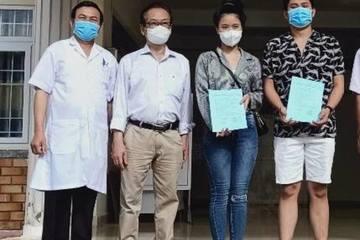 Đắk Lắk: Hai bệnh nhân mắc Covid-19 đã khỏi bệnh và xuất viện