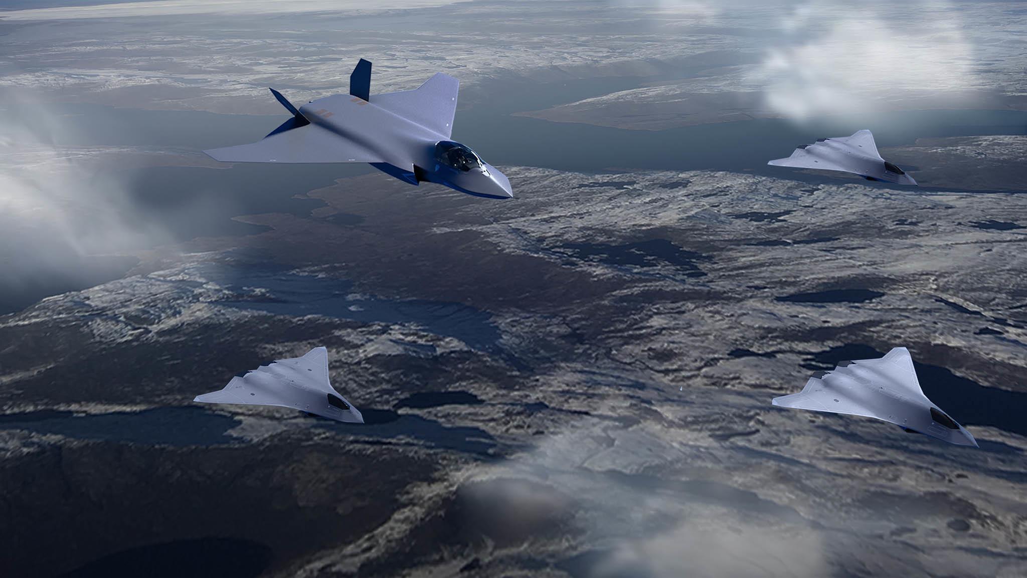 Dự án UAV 'Skyborg' siêu thông minh của Mỹ bước vào giai đoạn thử nghiệm