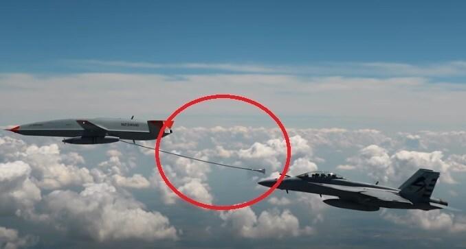 Hải quân Mỹ,UAV tiếp dầu,MQ-25,F/A 18