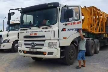 Để xe chở hàng quá khổ quá tải, chủ xe bị phạt tới gần 50 triệu đồng