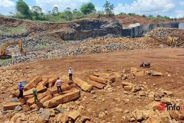 Giao công an 'truy tìm' 80m3 đá cây 'không cánh mà bay' ở Đắk Mil