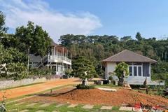 Nhà vườn hoành tráng 'mọc' trái phép trên thủy điện Đắk R'tih, Chủ tịch huyện nói chỉ là 'chòi canh rẫy'
