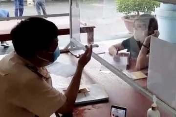 Nữ tài xế phóng ô tô ngược chiều trên cao tốc Nội Bài-Lào Cai bị phạt 17 triệu đồng
