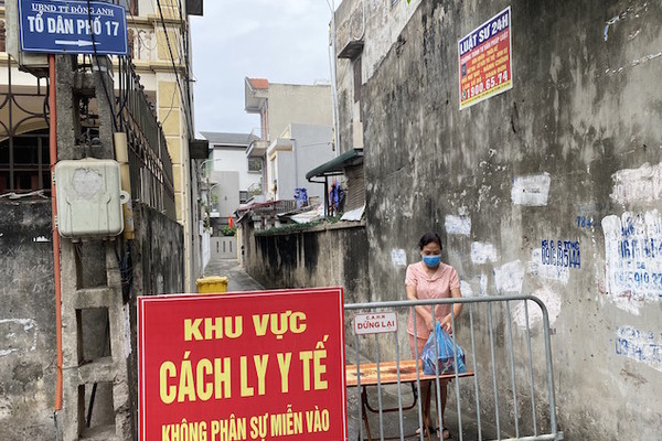 Hà Nội thêm một ca dương tính mới, nâng số ca mắc lên 7 tại thị trấn Đông Anh