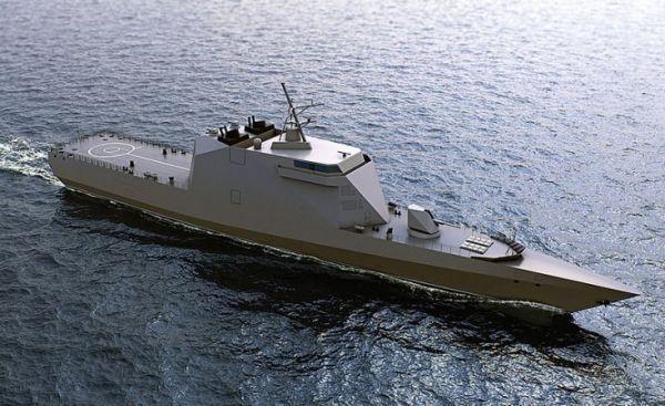 Tàu 'tàng hình toàn phần' đầu tiên của Hải quân Nga lộ diện