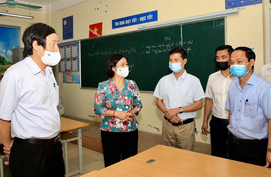 thi vào lớp 10 Hà Nội,khai báo y tế,khai báo y tế trực tuyến,tuyển sinh lớp 10 Hà Nội 2021