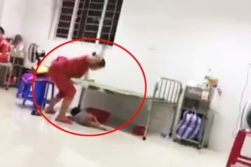 Quảng Nam: Xôn xao clip người mẹ đánh con dã man tại bệnh viện, bất ngờ khi biết hoàn cảnh