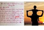 Đang 'lên mây' đọc bài văn tả bố của học sinh tiểu học, câu chốt khiến dân mạng vỡ mộng