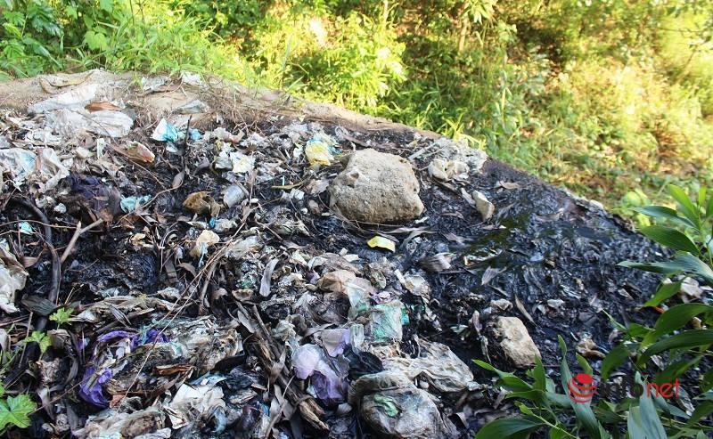 Rác thải,ô nhiễm môi trường,Thị xã Thái Hòa
