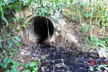 Bãi rác gây ô nhiễm ở thị xã Thái Hòa: Hệ thống xử lý nước rỉ rác chưa hoàn thiện