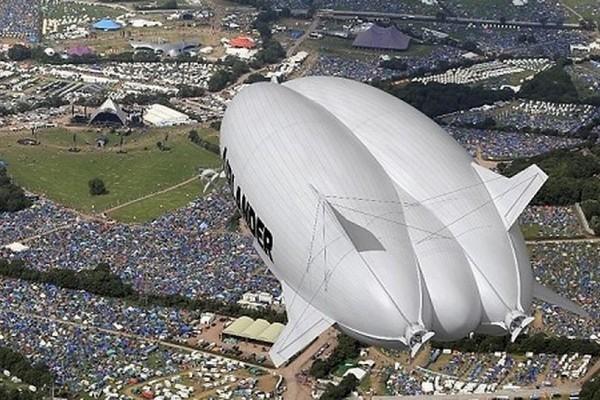 Hình ảnh tuyệt đẹp bên trong máy bay lai khí cầu lớn nhất thế giới