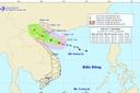 Bão số 2 cách Thái Bình khoảng 214km, gió giật cấp 10