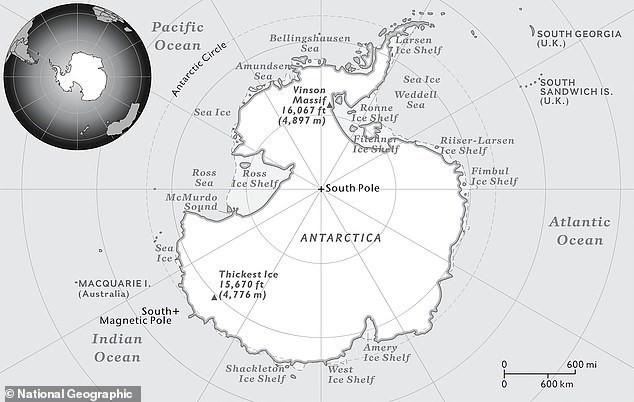 Trái Đất có đại dương thứ năm và đây là vị trí chính xác trên bản đồ thế giới