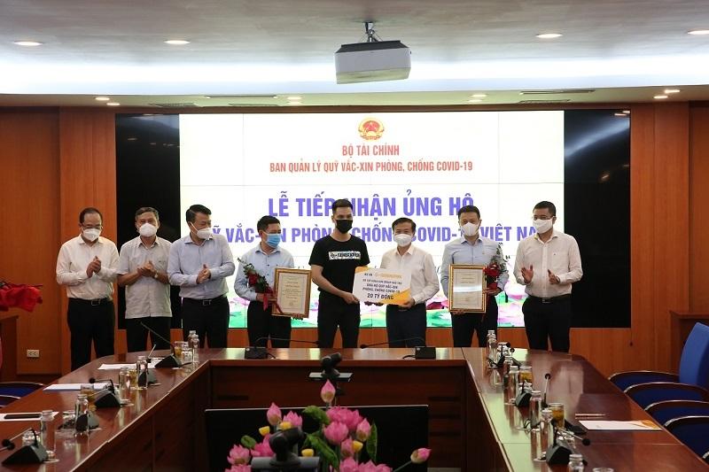 S-Generation,Sun Group,ủng hộ,quỹ vắc xin covid-19