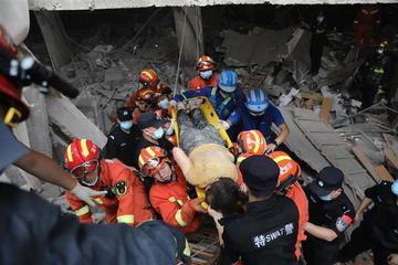Hiện trường kinh hoàng nổ gas khiến 150 người thương vong ở Trung Quốc