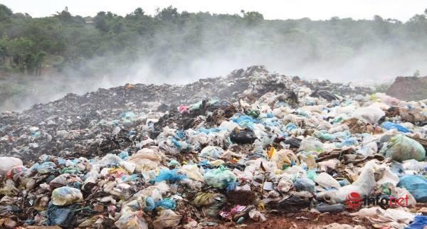 Đắk Lắk,Bãi rác,Khói bụi,Xã Ea Wer,Buôn Đôn,Bức xúc