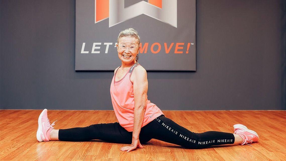 Choáng với cụ bà 90 tuổi vẫn hăng say làm huấn luyện viên thể dục