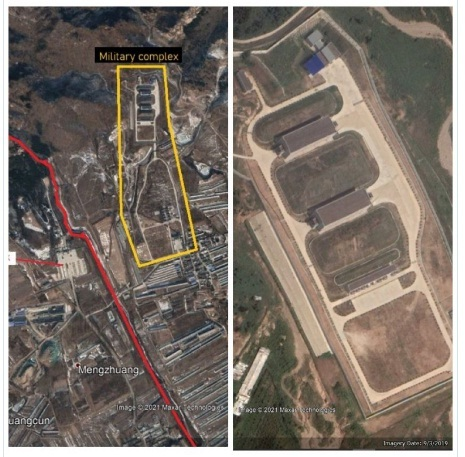 Hé lộ công trình quân sự chưa xác định gần Vạn Lý Trường Thành