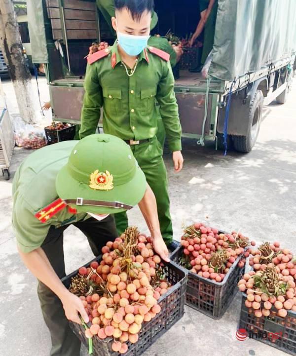 VietNam Post,Quản lý thị trường,vải thiều Bắc Giang,tiêu thụ,Covid-19,Thanh Chương,Nghệ An