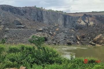 Nổ mìn phá đá vùi lấp khu vực sông Sêrêpốk, còi hú giữa trưa náo động dân cư