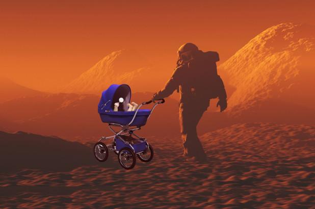 Nghiên cứu đặc biệt này giúp con người có thể sinh sản trên sao Hỏa?