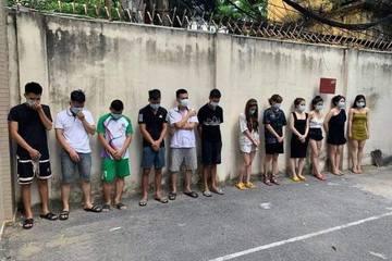 Hà Nội: Hơn 40 nam nữ bay lắc trong quán karaoke giữa mùa dịch, 38 người dương tính với ma túy
