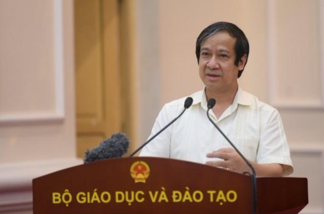 """Bộ trưởng Nguyễn Kim Sơn: """"Trách nhiệm của chúng ta là phát triển một xã hội hiếu học"""""""