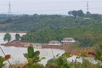 Vụ xây nhà vườn trái phép giữa rừng thủy điện: Lúng túng xử lý vì không xác định được nguồn gốc đất?